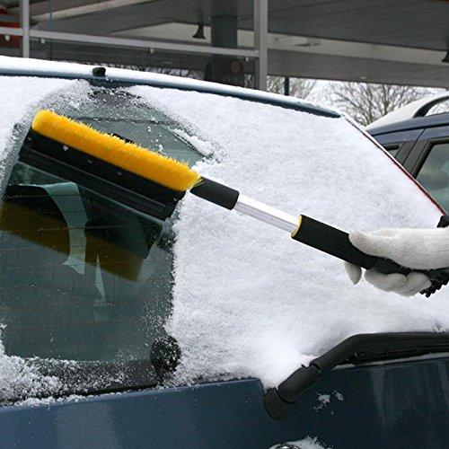 ProPlus Schneebürste mit Gummiwischer, Eiskratzer und Teleskopstiel ideal für Pkw, Transporter, Lkw und Wohnmobil - 2