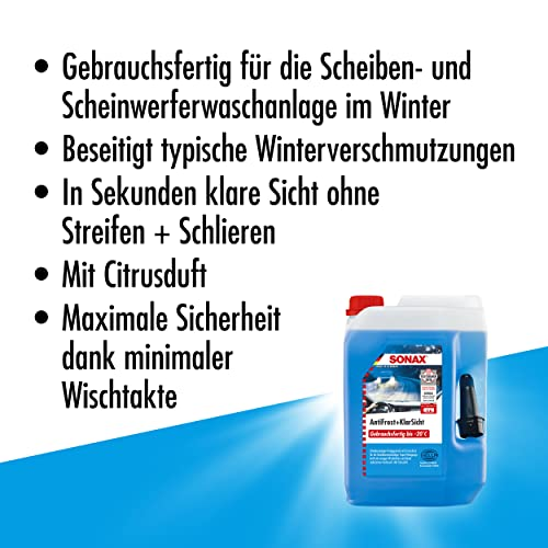 SONAX 332500 AntiFrost&KlarSicht gebrauchsfertig bis -20°C, 5 Liter - 3
