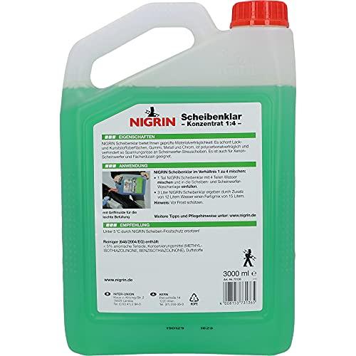 Nigrin 73136 Scheibenklar Konzentrat Apfel 1:4 (15L) 3.000 ml - 3