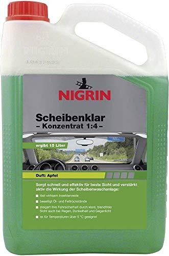 Nigrin 73136 Scheibenklar Konzentrat Apfel 1:4 (15L) 3.000 ml - 4