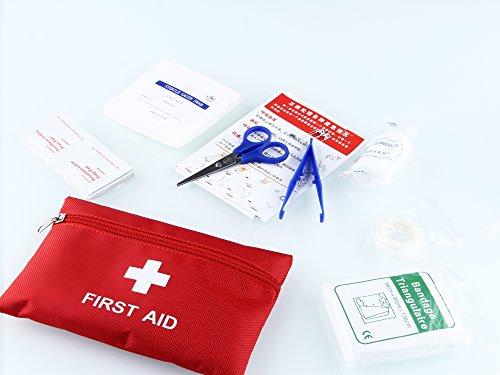 Erste Hilfe Set für Kfz (inkl. Verbandskasten, Warnweste, Sanitätstasche, Werkzeugkasten, Feuerlöschdecke etc.) -