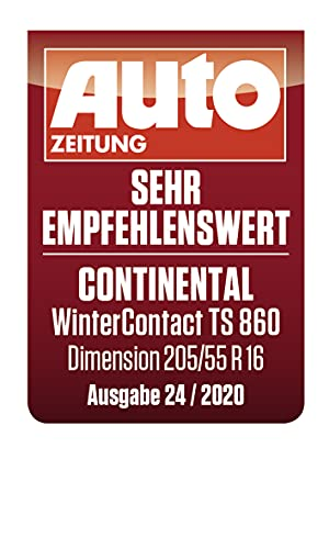 CONTINENTAL WinterContact TS 860   – 205/55/16 091H – C/B/72dB – Winterreifen (PKW) - 4