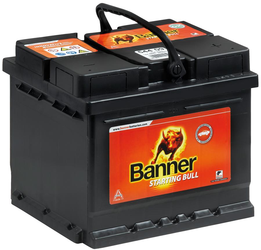 banner starting bull autobatterie 58014 80 ah 660 a. Black Bedroom Furniture Sets. Home Design Ideas